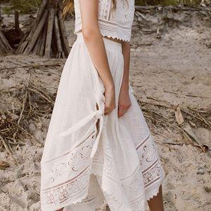 spell designs | abigail lace skirt